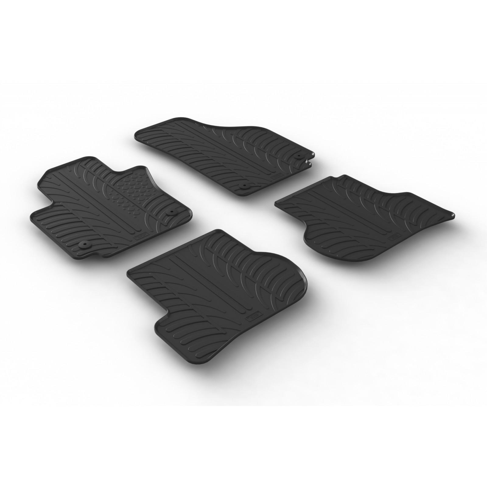 SEAT ALTEA TAPPETI tappetini AUTO su MISURA 4 block