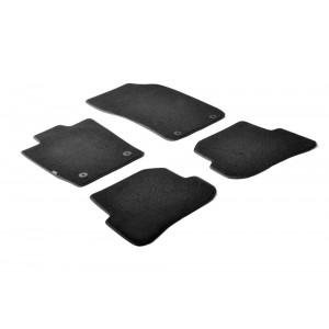 I tappetini tessili per Audi A1 (3 & 5 porte/Sportback)
