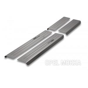 Protezione delle traverse per Opel Mokka (X)