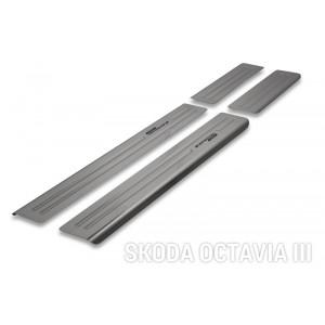 Protezione delle traverse per Skoda Octavia III