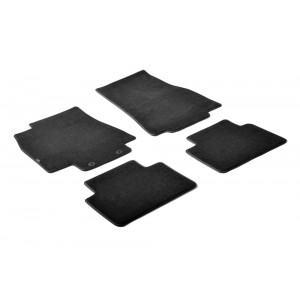 I tappetini tessili per Mercedes Class A (W169)
