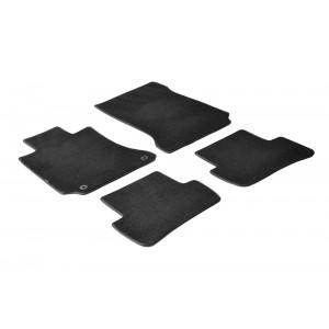 I tappetini tessili per Mercedes Class C (W204)