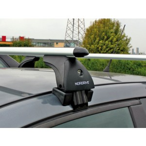 Barre portatutto per Renault Clio (cinque porte)