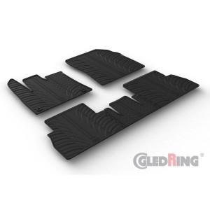Tappetini per Citroen Berlingo (sedile passeggero pieghevole/oval fixing)