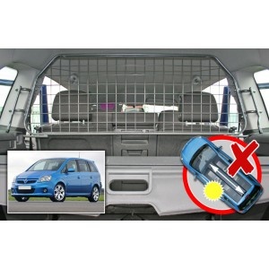 Rete divisoria per Opel Zafira (Senza tetto apribile)