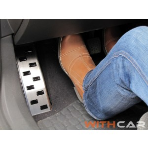 Protezione del poggiapiedi per la gamba sinistra Nissan JUKE