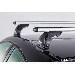 Barre portatutto in alluminio per Ford Mondeo (quattro porte)