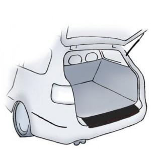Adesivo protettivo nero per paraurti VW Caddy/Caddy Life