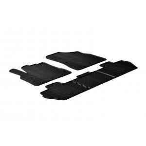 Tappetini per Peugeot Rifter (sedile passeggero pieghevole)